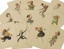 - Legat, Nicolai, Russkij Balet v Karikatura. 1902