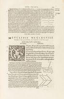 Euklid - Elementorum geometricorum libri XV. 1546.