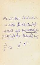 Gottfried Benn - Zweiundzwanzig Gedichte (1936-1943)