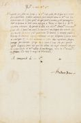 Andrea Doria - Brief m. U. u. eigh. Adresse u. a. die Räte von Genua. 1535.
