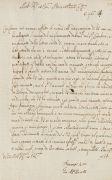 Giovanni Alfonso Borelli - Brief m. U. 1664.