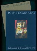 Yoshi Takahashi - Werkverzeichnis der Druckgraphik 1974–1993, 2 Bde. Dabei: R. Escher: Zeichnungen. H. Janssen: Zeichnungen (signiert u. datiert)