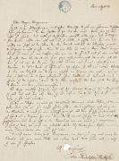 Felix Mendelssohn-Bartholdy - Eigh. Brief m. U.