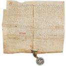 Ferdinand IV. - Urkunde auf Pergament.
