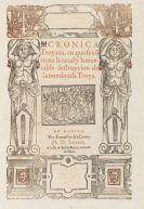 Guido de Columna - Chronica Troyana