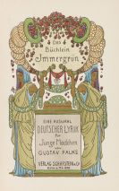 Heinrich Vogeler - Das B�chlein Immergr�n