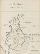 Atlanten - Manuskriptatlas, England, Europa, Asien.