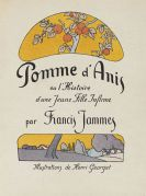 Francis Jammes - Pommes d'Anis