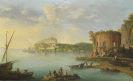 Antonio Joli - Der Golf von Baia mit dem Venustempel