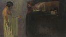 Franz von Stuck - �dipus l�st das R�tsel der Sphinx