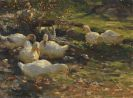 Max Liebermann - Enten am Br�nnele
