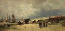 Adolf Heinrich Lier - Am Strand von Scheveningen