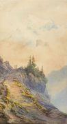 Edward Theodore Compton - Zugeschrieben - In den Dolomiten