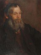 Carl von Marr - Porträt eines bärtigen Mannes