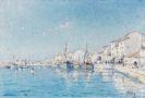 Henry Malfroy - Der s�dfranz�sische Fischerhafen von Martigues