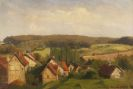 Karl Raupp - Blick auf Willingshausen in Hessen