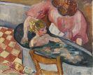 Louis Valtat - L'Enfant dans la baignoire (Madame Valtat et son fils dans la baignoire)