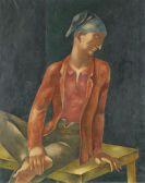 Eugeniusz Zak - Junger Mann mit blauer Kappe