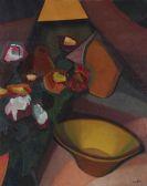 Auguste Herbin - Nature morte � la cuvette