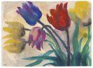 Emil Nolde - Tulpen