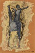Marino Marini - Cavallo e cavaliere a braccia aperte