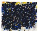 Sam Francis - Composition: Black and Blue (SF56-157)