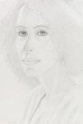 Alex Katz - Portrait of a woman