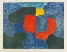 Serge Poliakoff - Composition verte, bleue, rouge et jaune