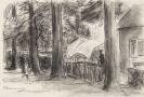 Max Liebermann - Dorfstra�e mit alten B�umen
