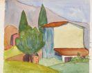 Hermann Hesse - Haus mit zwei Zypressen