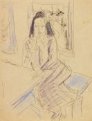 Ernst Ludwig Kirchner - M�dchen im Caf�