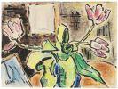 Karl Schmidt-Rottluff - Stillleben mit Tulpen