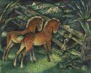 Harold Bengen - Zwei Fohlen und K�he auf der Weide