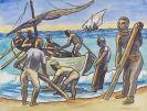 Hermann Max Pechstein - Ausfahrt zum Fischfang