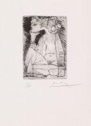 Pablo Picasso - Femme assise en tailleur: Geneviève Laporte