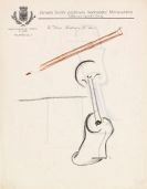 Otto Gutfreund - 3 Bl�tter: Kubistische Kompositionen