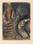 Marc Chagall - Ahasverus vertreibt Vasthi