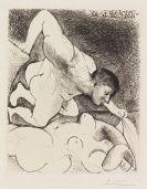Pablo Picasso - Homme dévoilant une Femme