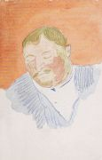 Marianne von Werefkin - Porträt eines Mannes (Der Alte)