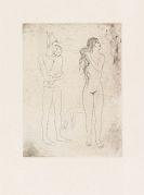 Pablo Picasso - La Toilette de la Mère