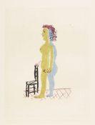 Pablo Picasso - Nu � la chaise