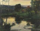 Leo Putz - Landschaft an den Osterseen
