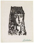 Pablo Picasso - Femme � la Mantille: Carmen