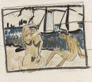 Erich Heckel - Zwei weibliche Akte am Strand