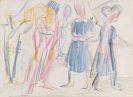 Ernst Ludwig Kirchner - Frauen in Landschaft