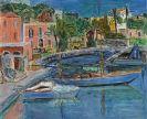 Hans Purrmann - Der Hafen von Porto d'Ischia