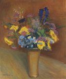 Otto Modersohn - Sommerblumenstrau�