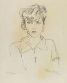 Rudolf Schlichter - Portrait Speedy (