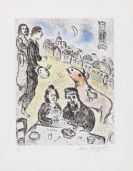 Marc Chagall - Le Repas