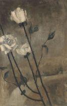 Peter Herkenrath - Ohne Titel (Weisse Rosen)